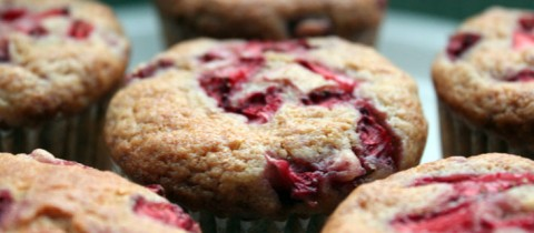 Strawberry muffins