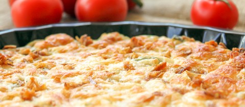 Vegetables fritatta